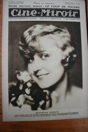 1928 Daniele Parola Rudolph Valentino Charles Boyer