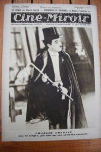 1928 Charles Chaplin The Circus Harold Lloyd