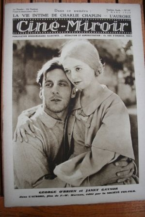 1928 George O'Brien Janet Gaynor Norma Talmadge