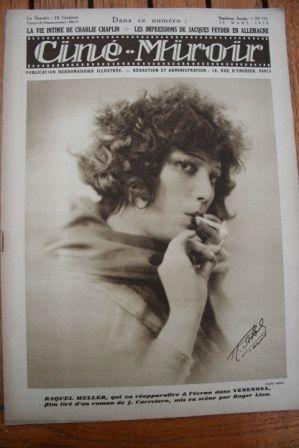 1928 Raquel Meller Bebe Daniels Rod la Roque