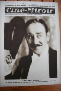 1928 Adolphe Menjou Charles Farrell George Bancroft