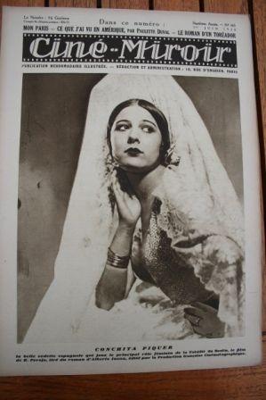 1928 Conchita Piquer Malcolm Tod Raymond de Sarka