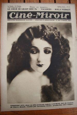 28 Edmonde Guy Betty Balfour Mabel Poulton Edy Darclea