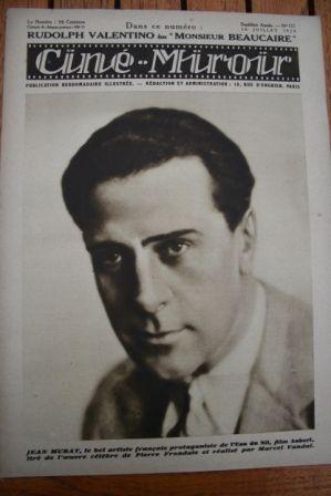 1928 Jean Murat Bebe Daniels Rudolph Valentino