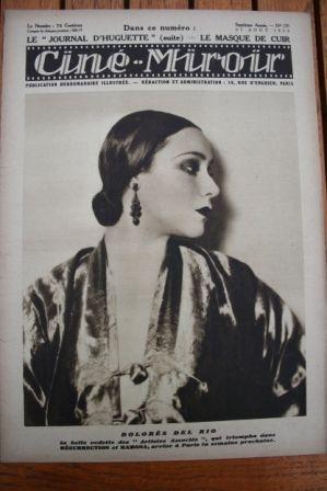 1928 Dolores Del Rio Luciano Albertini Ronald Colman