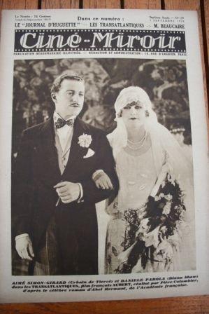 28 Daniele Parola Charles Rogers Gilda Gray Clive Brook
