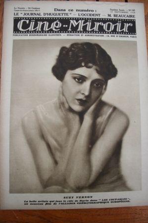1928 Suzy Vernon Schuldig Jaque Catelain Neil Hamilton