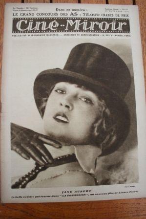 1928 Clara Bow Charles Rogers Wings Jeanne Aubert