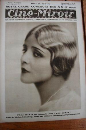 28 Mona Maris Marie Bell Heinrich George Brigitte Helm