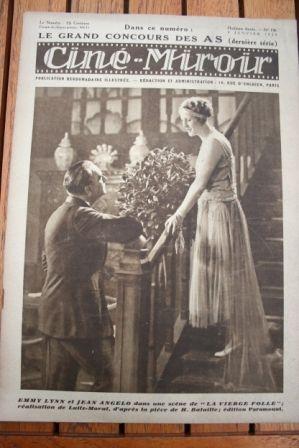 1929 Emmy Lynn Gustav Frohlich Illa Meery Dita Parlo