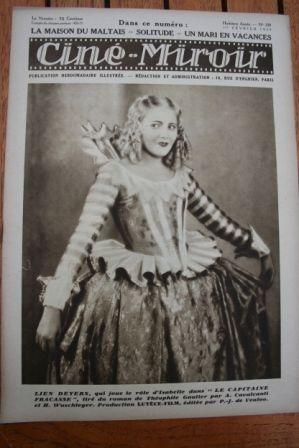 1929 Lien Deyers Tina Meller Lilian Harvey Glenn Tryon