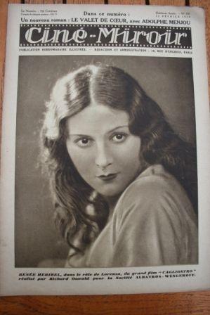 1929 Renee Heribel Reginald Denny Mary Philbin