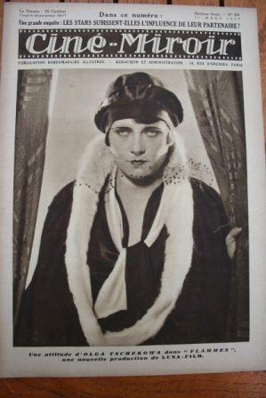 1929 Olga Tschekowa Emil Jannings Henry Krauss
