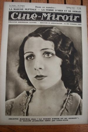 1929 Arlette Marchal Pierre Blanchar Laura La Plante