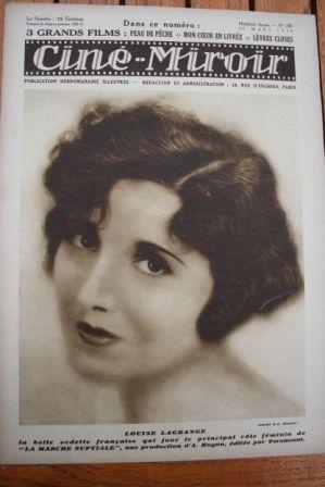 1929 Louise Lagrange Jack Trevor Denise Lorys