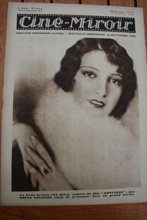29 Ita Rina Glenn Tryon Jean Hersholt Maurice Chevalier