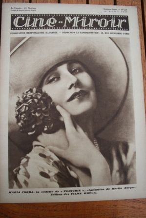 1929 Maria Corda Dorothy Gish Claire Rommer Orient