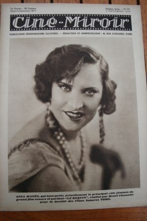 1929 Gina Manes Gustav Frohlich Elga Brink Angst