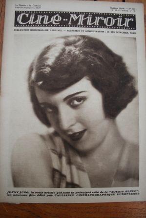 1929 Jenny Jugo Buster Keaton Warner Baxter