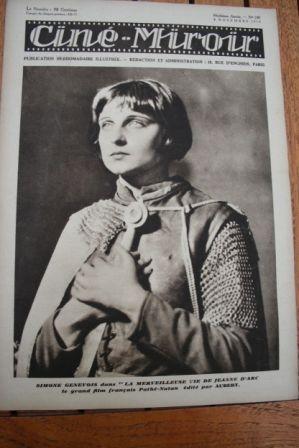 1929 Belle Bennett Maria Falconetti Joan Of Arc