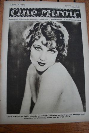 1929 Lola Lane Ivan Mozzhukhin Hans Adalbert