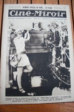 1929 Bessie Love Louise Brooks Gary Cooper Lili Damita