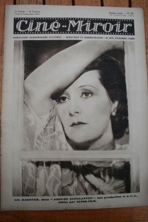 1930 Lil Dagover Vilma Banky Marlene Dietrich