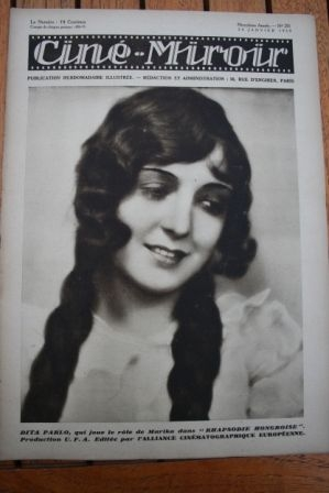 30 Dita Parlo Mabel Poulton Lilian Harvey Willy Fritsch