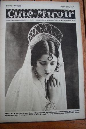 1930 Manuela Del Rio Himansu Rai Kit Carson Richard Dix
