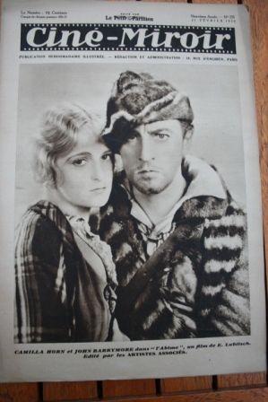 1930 Camilla Horn John Barrymore Evelyn Brent Show Boat