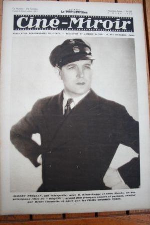 1930 Albert Prejean Dolores del Rio Maurice Chevalier