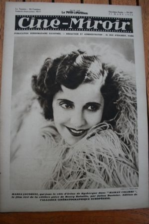 1930 Maria Jacobini Leni Riefenstahl Clara Bow