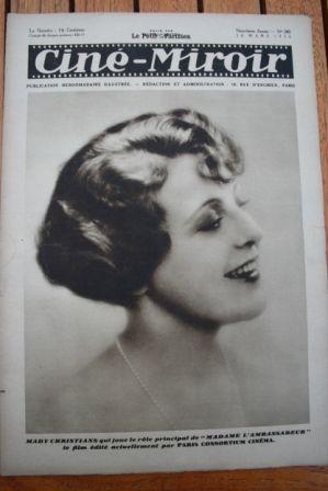 1930 Mady Christians Greta Garbo Maurice Chevalier