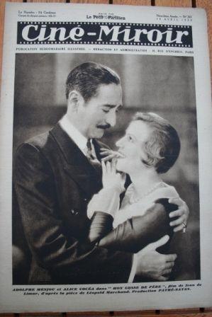 30 Adolphe Menjou Pola Illery Betty Balfour Gary Cooper