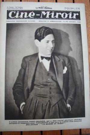 1930 Belle Bennett Douglas Fairbanks Charles Rogers
