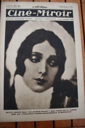 1930 Betty Amann Lon Chaney Ivan Mozzhukhin