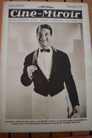 1930 Maurice Chevalier Bebe Daniels Gerda Maurus