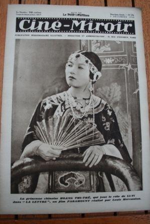 1930 Hoang Thi The Louise Brooks Brigitte Helm