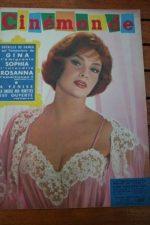 60 Gina Lollobrigida Sophia Loren Glenn Ford Schiaffino