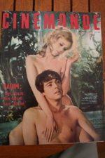1966 Jane Fonda Claudia Cardinale Batman Steve McQueen