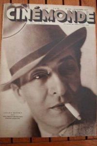 1931 Vintage Magazine Jules Berry Suzy Prim