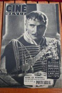 45 Pierre Blanchar Annie Ducaux John Payne Vivien Leigh