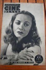 1945 Rita Hayworth Fernand Ledoux Laurel & Hardy