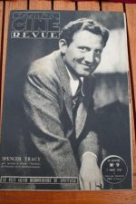 1945 Vintage Magazine Spencer Tracy
