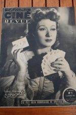 1945 Vintage Magazine Greer Garson Robert Taylor
