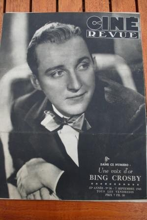 1945 Bing Crosby Lauren Bacall Humphrey Bogart