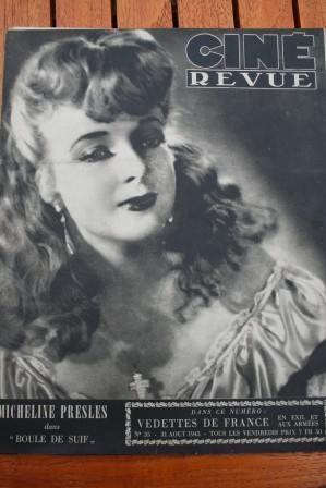 1945 Micheline Presle Madeleine Sologne Fernandel Sabu