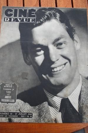 1945 Weissmuller Jean Marais Judy Garland Maria Montez