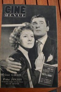 1945 Greer Garson Walter Pidgeon Olivia De Havilland