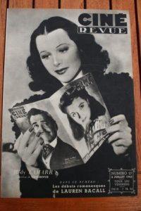 1945 Hedy Lamarr Vivien Leigh Fred Mac Murray